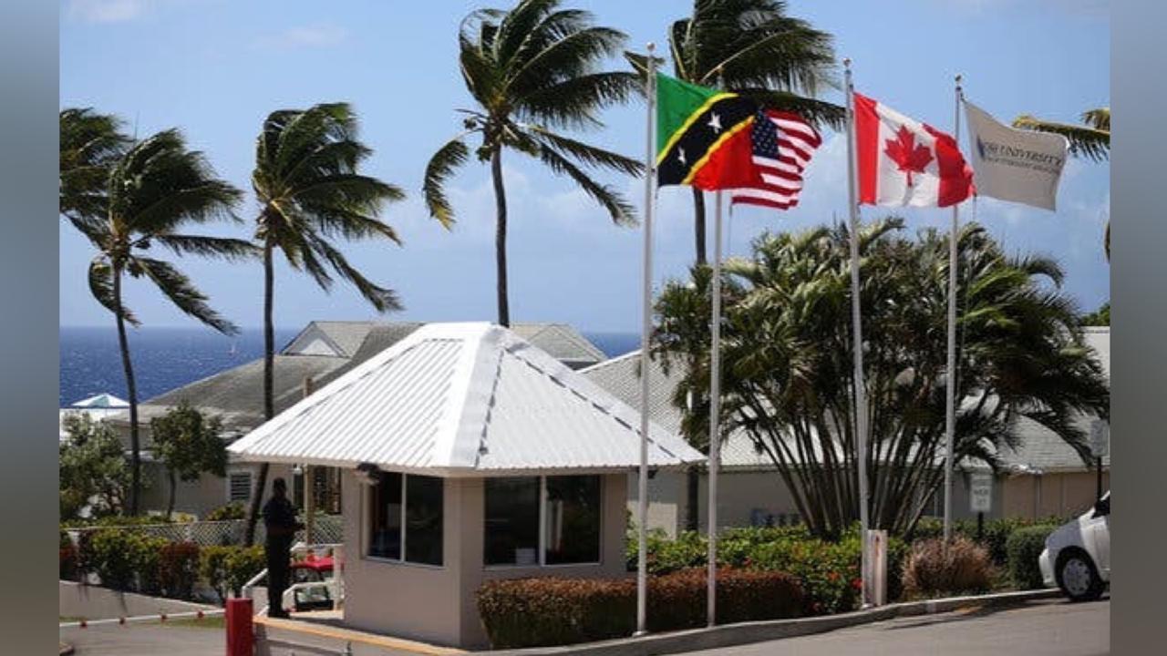 Ross University, St Kitts. Photo Courtesy St Kitts and Nevis Information Service