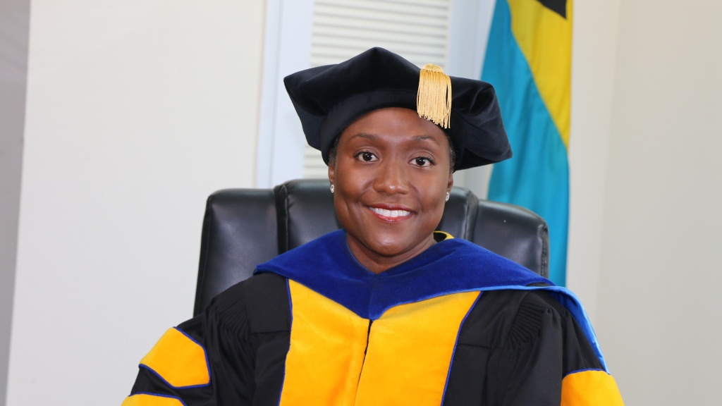 Executive Director of BAMSI Dr Raveenia Roberts-Hanna. Photo: The Bahamas Agriculture and Marine Science Institute.