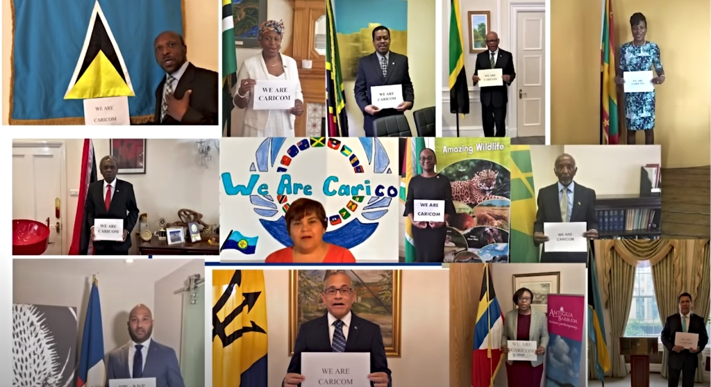 "One message was shared ""We are CARICOM"""