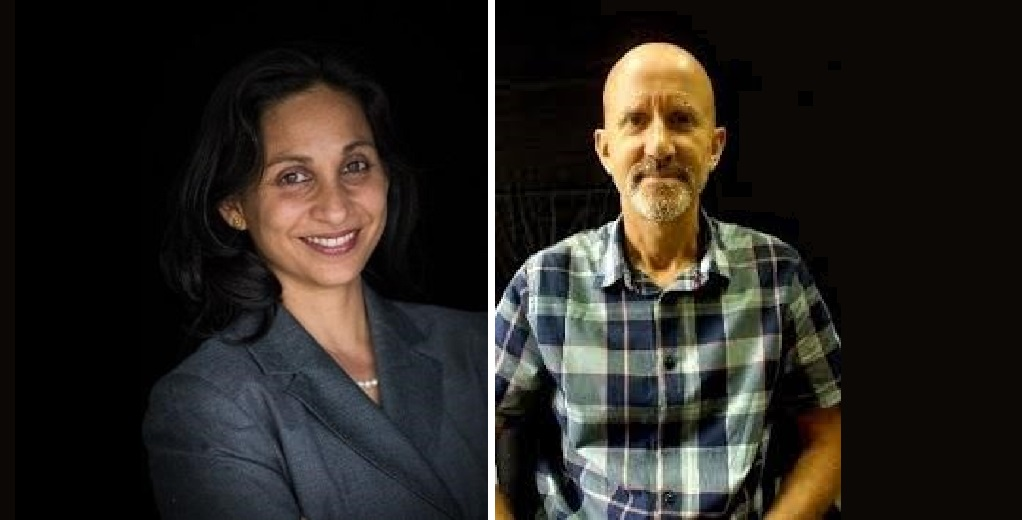 Professor Rupika Delgoda (left) and Dr David Picking (right)