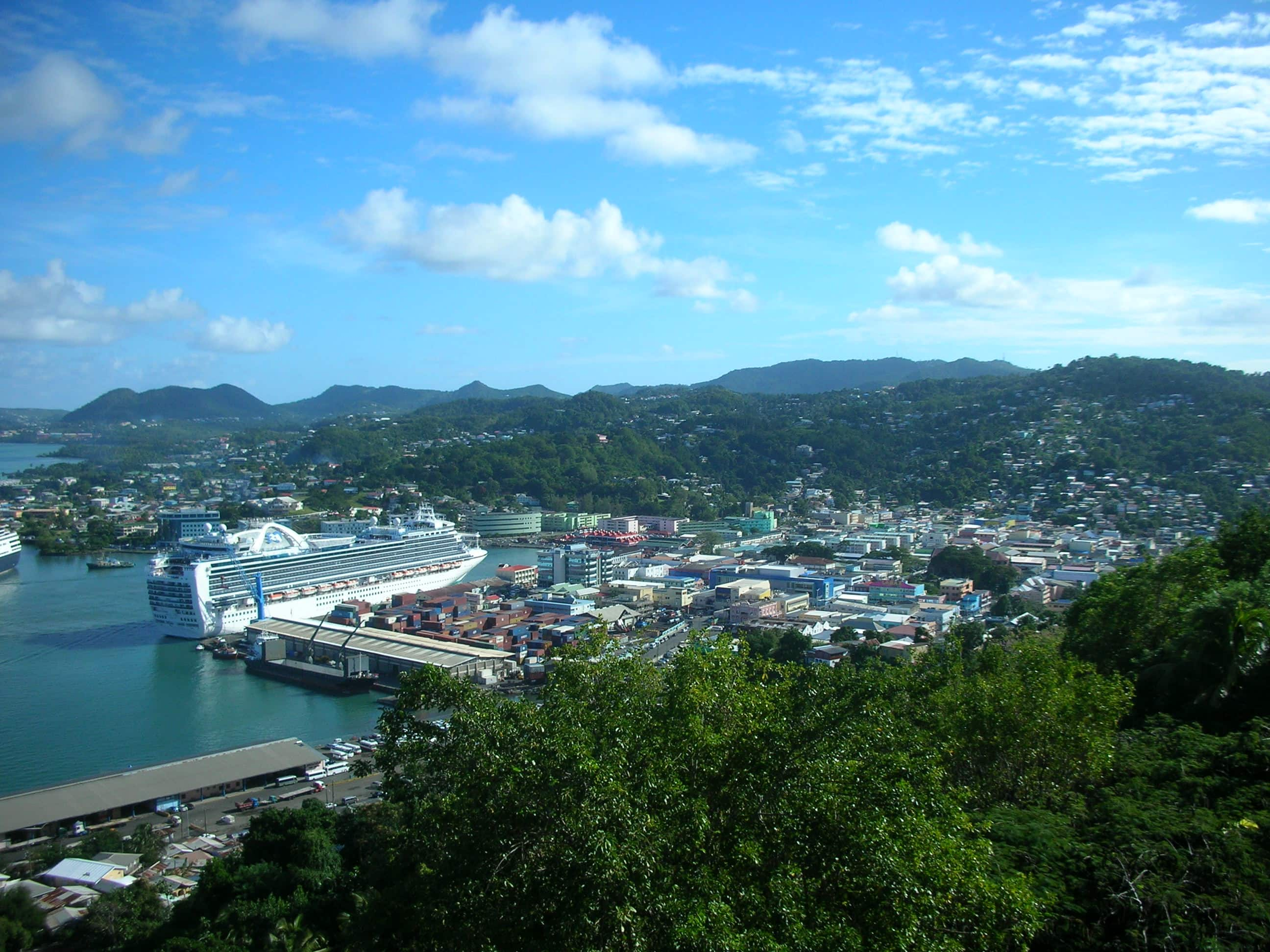 Photo: Castries St Lucia