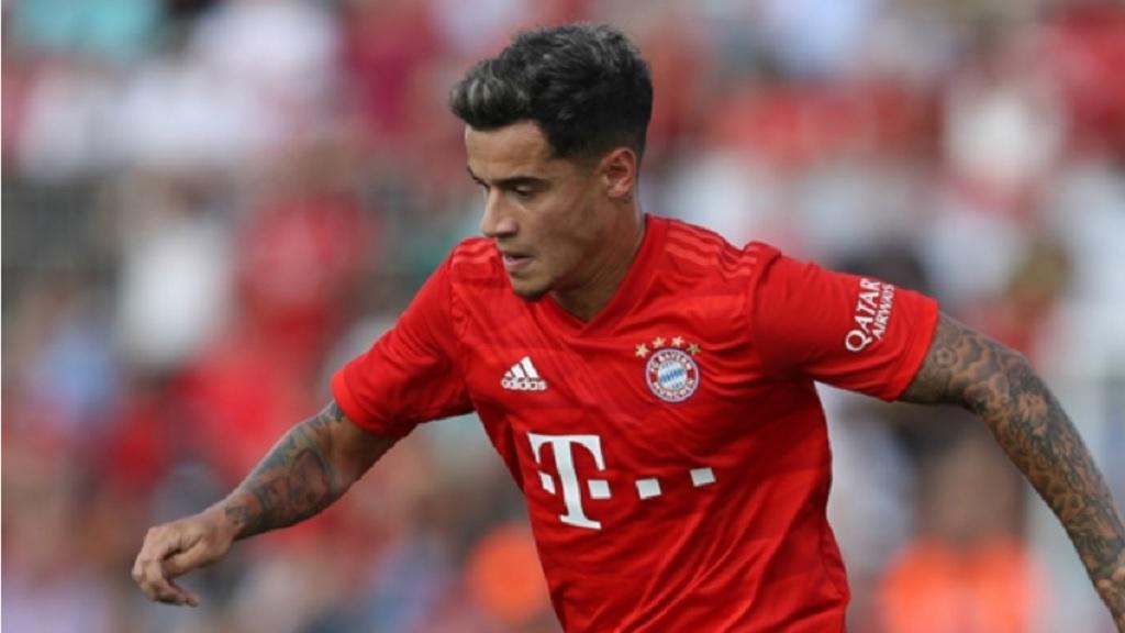 Bayern Munich midfielder Philippe Coutinho.