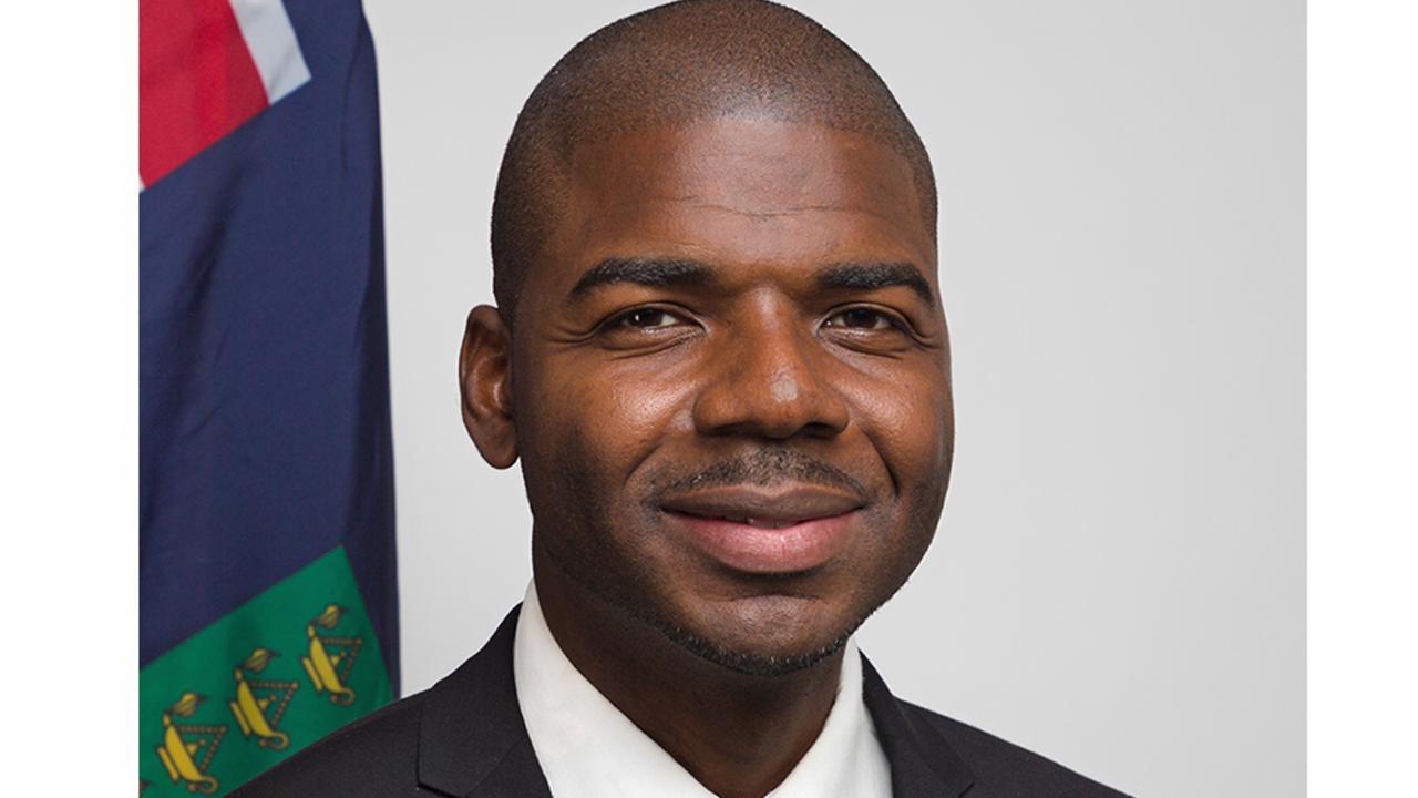 British Virgin Islands Education Minister, Dr Natalio Wheatley