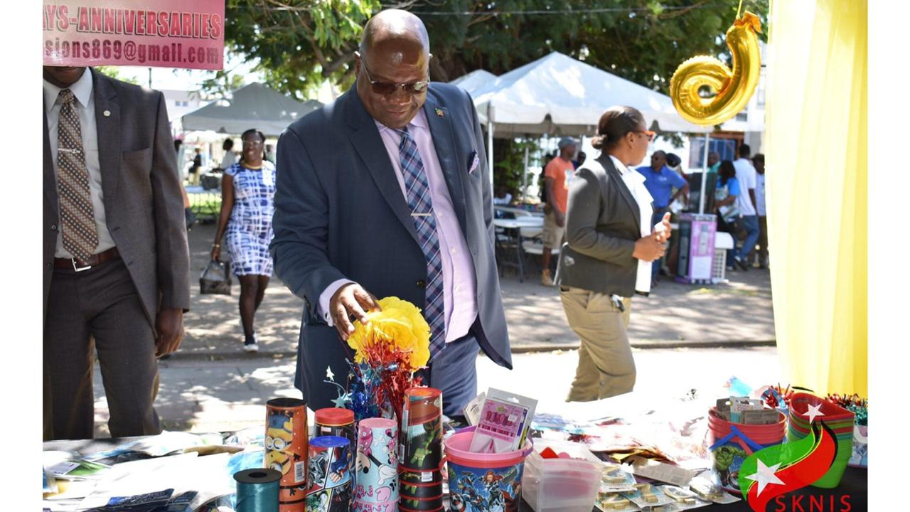Prime Minister Dr Timothy Harris. Photo courtesy the St Kitts and Nevis Information Service.