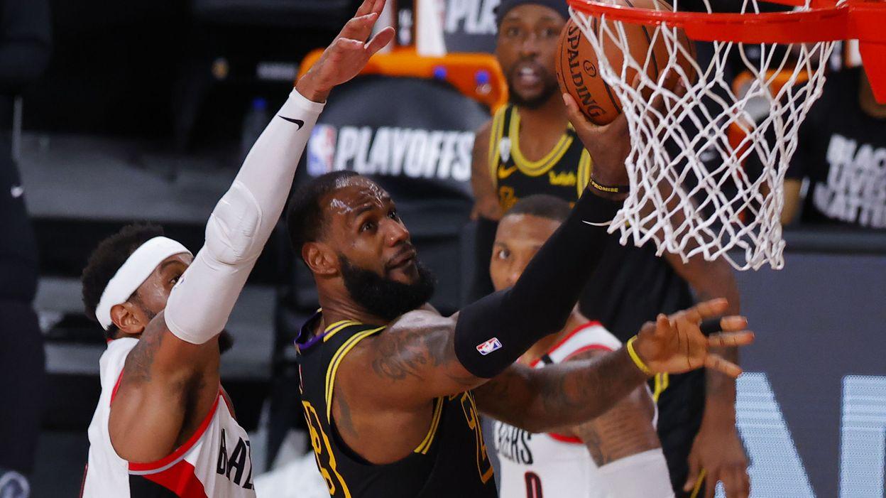 NBA: Portés par l'esprit de Kobe, les Lakers corrigent Portland et se détachent - © Kevin C. Cox - AFP