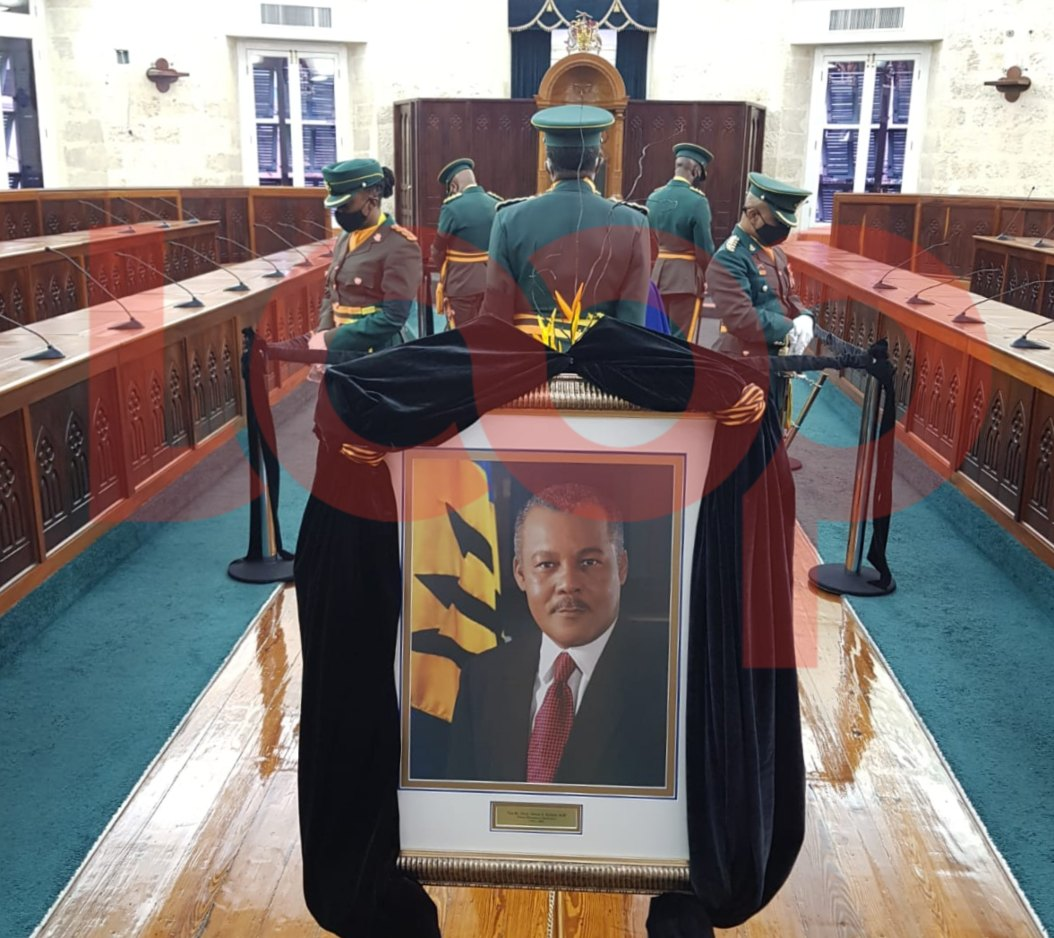 Viewing for the late prime minister was held at Parliament earlier this week. 