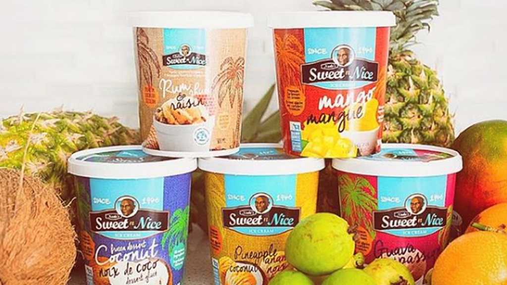 Neale's Sweet n' Nice ice cream was developed in Trinidad in the 1940s. Today, the brand is in over 400 retail outlets in Canada.