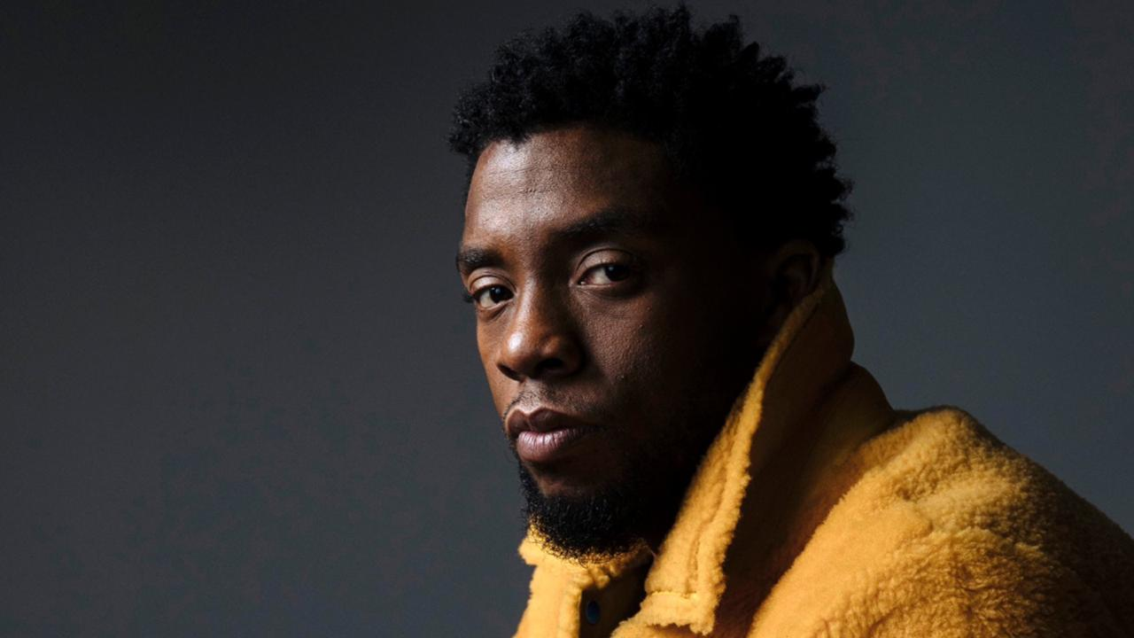 "In this Feb. 14, 2018 photo, actor Chadwick Boseman poses for a portrait in New York to promote his film, ""Black Panther."" Boseman, who played Black icons Jackie Robinson and James Brown before finding fame as the Black Panther in the Marvel cinematic universe, died of cancer at the age of 43 on Friday, Aug. 28, 2020, his representative said. (Photo by Victoria Will/Invision/AP, File)"