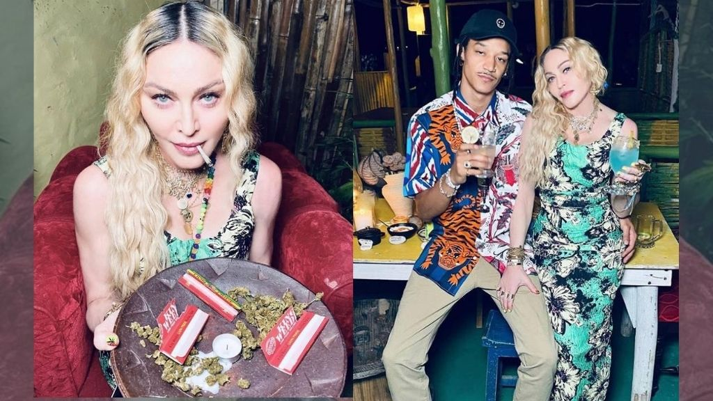 The pop legend celebrates her 62nd birthday in the second city with family and friends. (Photos: via Instagram/@madonna)
