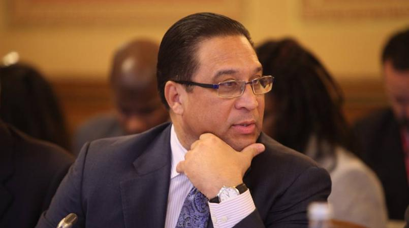 Cayman Islands Premier Alden McLaughlin.