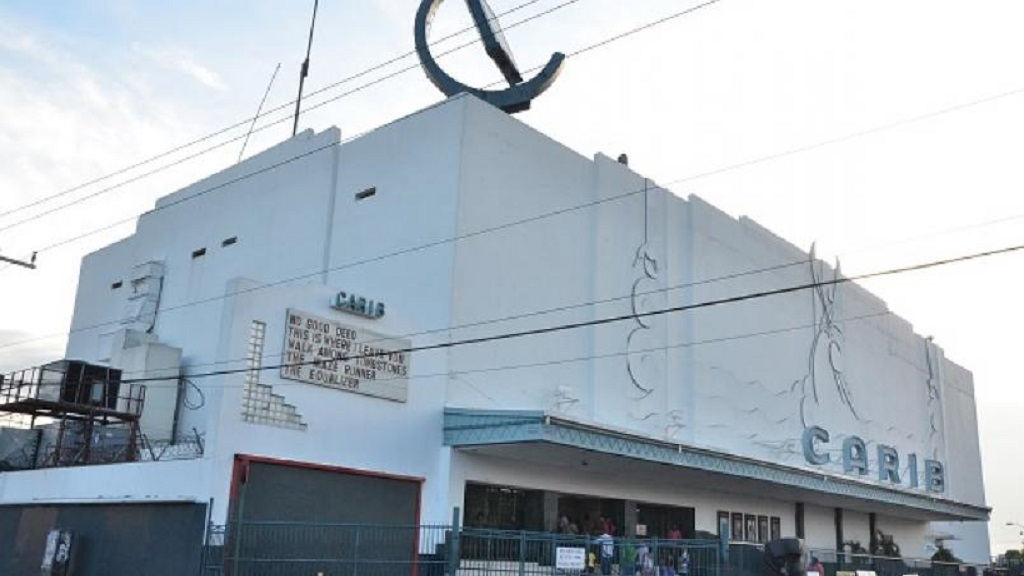 File photo shows Carib Cinema in Kingston, one of four cinemas that Palace Amusement operates on the islan.