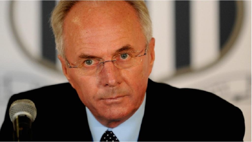 Veteran football coach Sven-Goran Ericksson. (PHOTO: FIFA.com).