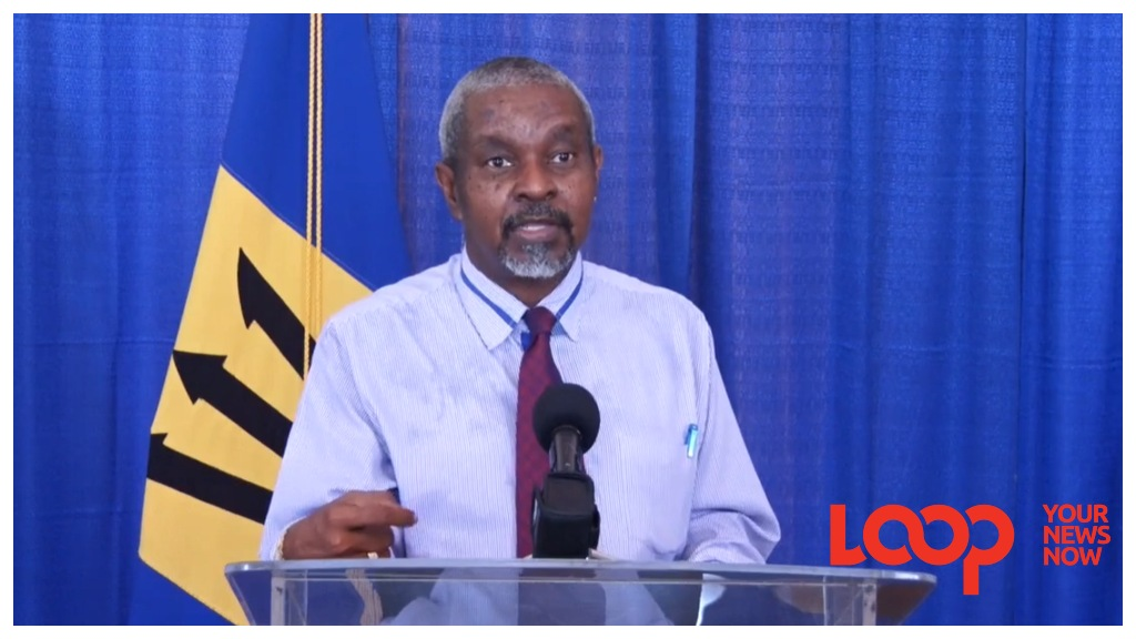 (FILE) Acting chief medical officer, Dr Kenneth George