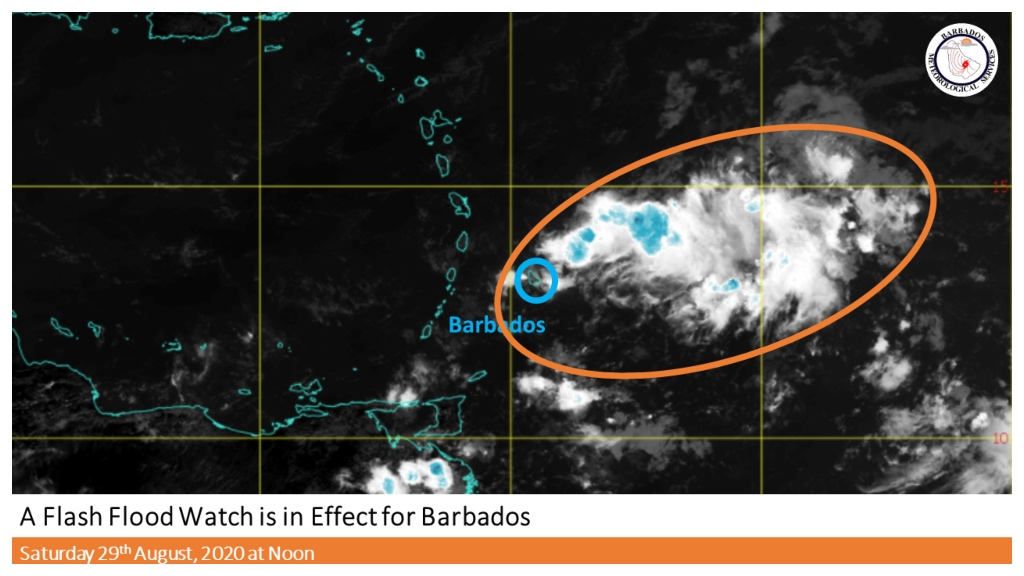 Photo by the Barbados Meteorological Services (BMS)