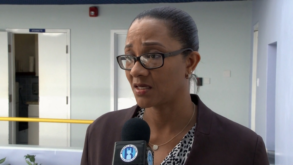 Chief Medical Officer Dr Sharon Belmar-George