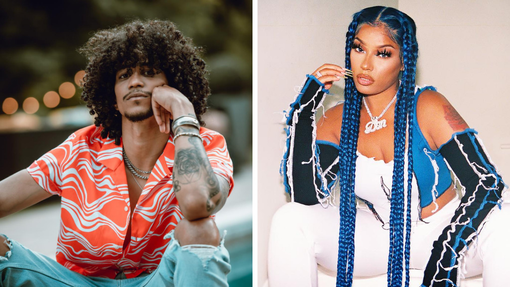 T&T singer Kalpee and Stefflon Don worked on a collab for his song Gimme De Ting