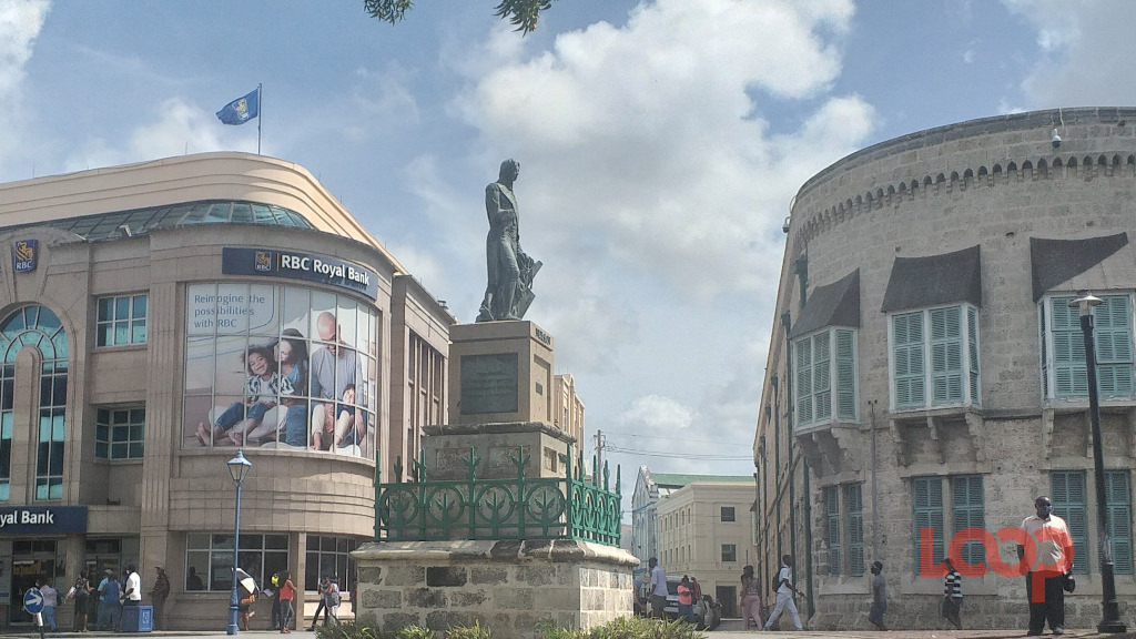 Lord Nelson statue in Bridgetown. (FILE)