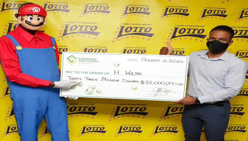 Lotto jackpot winner reveals his secret to securing $33m
