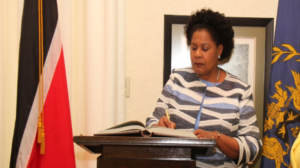 File photo: President, Paula-Mae Weekes