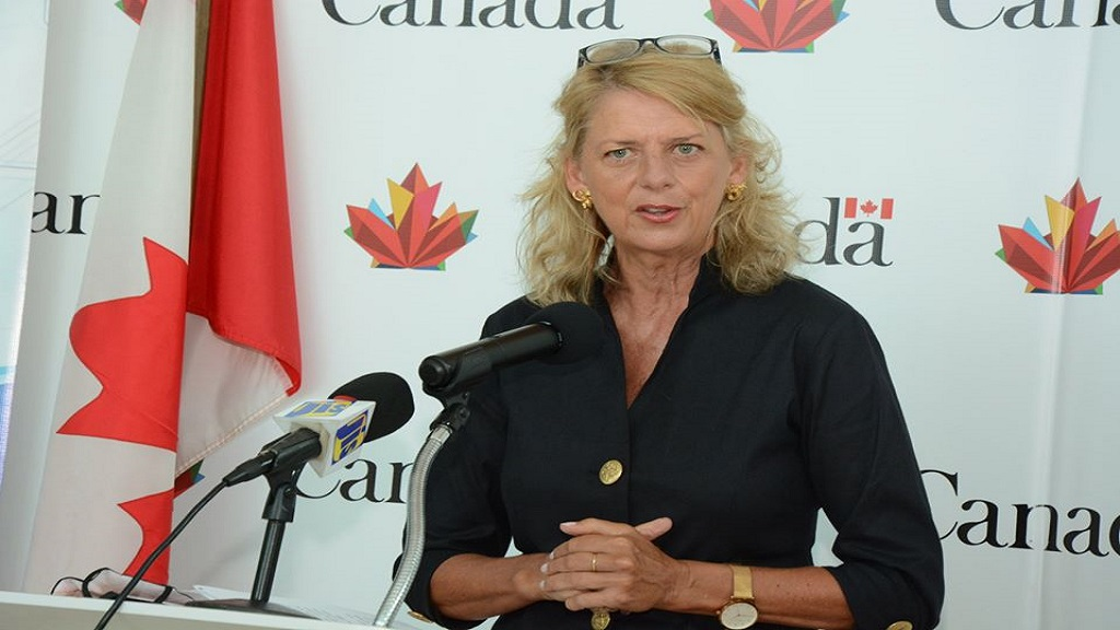 Laurie Peters, High Commissioner for Canada to Jamaica.