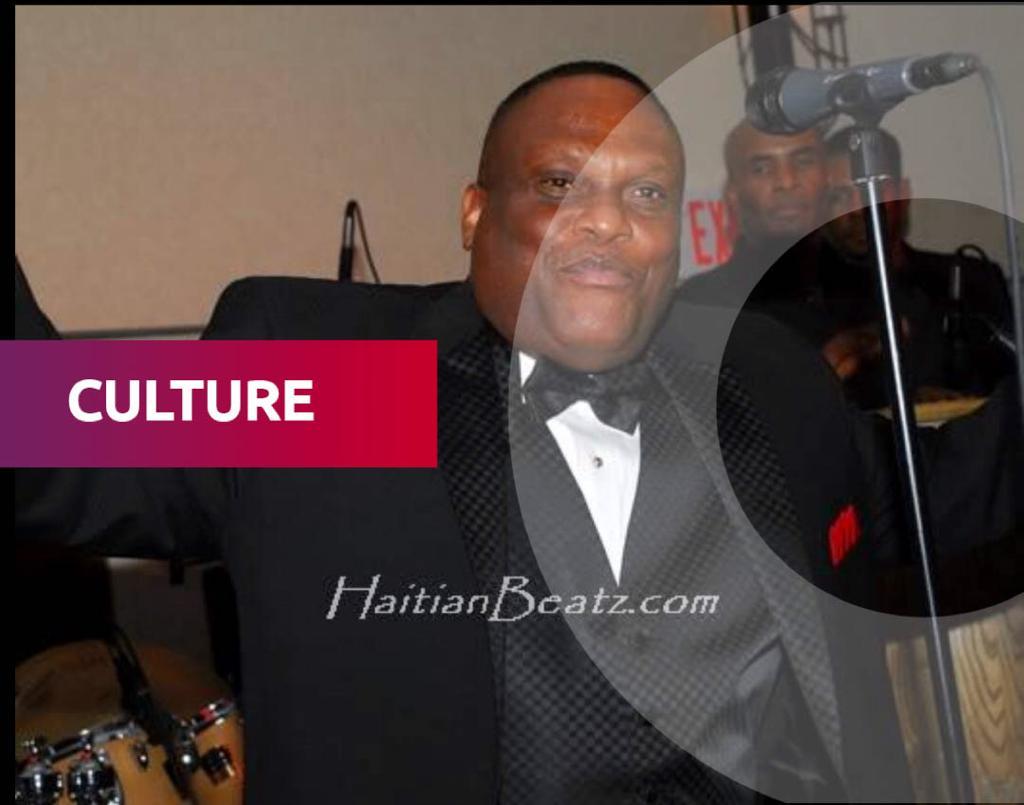 Roger M. Eugène dit Shoubou, membre du groupe Tabou Combo/ Photo: HaitianBeatz.com