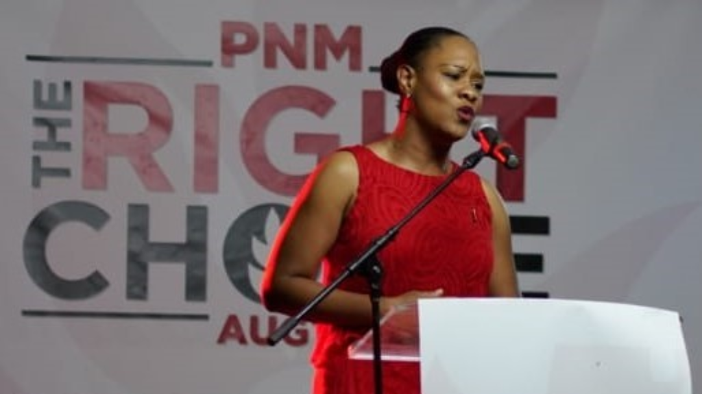 Ayanna Webster-Roy, the PNM's candidate for Tobago East.