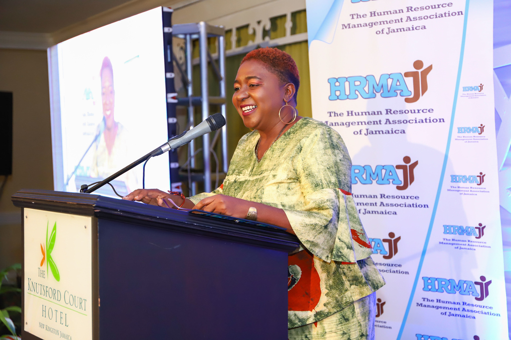 President of the Human Resource Management Association of Jamaica, Lois Walters.