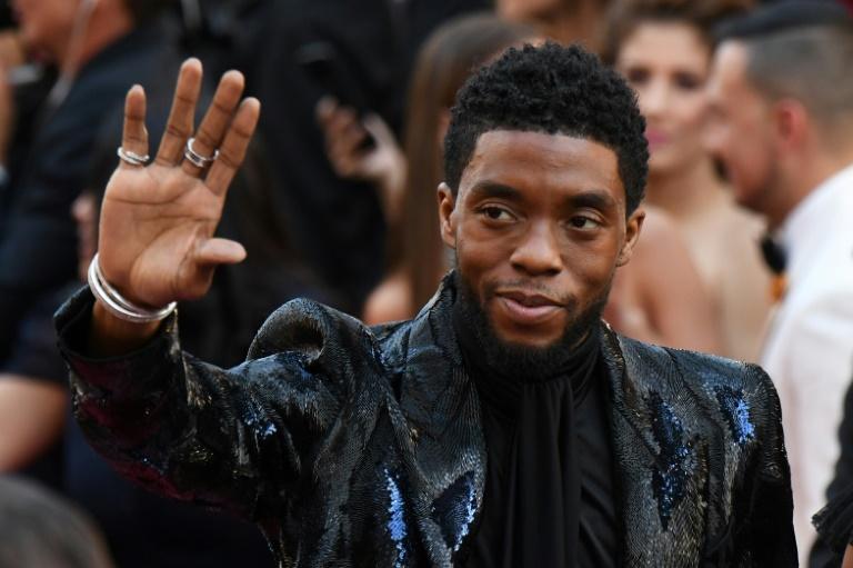 Chadwick Boseman/ AFP
