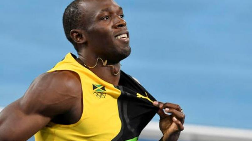 Sprint icon Usain Bolt.