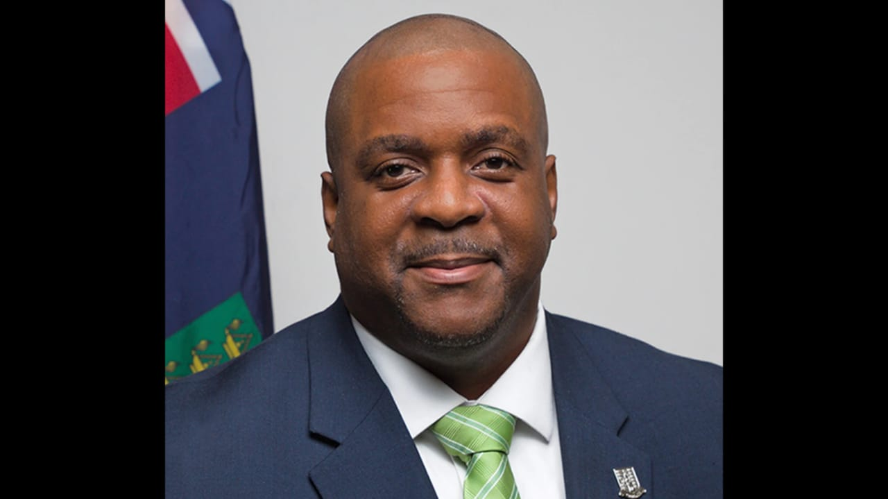 Premier of the British Virgin Islands, Andrew Fahie