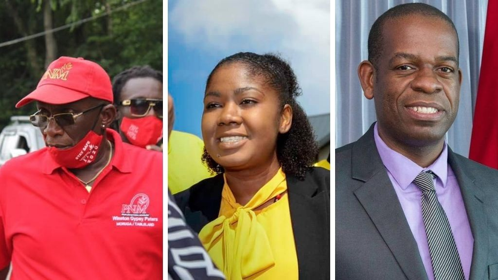 Photos L-R: Winston 'Gypsy' Peters conceded defeat to the UNC's Michelle Benjamin in the 2020 General Election. The PNM selected Peters ahead of Lovell Francis, who is popular within his constituency. Photos via Facebook.