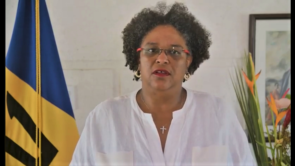 Prime Minister Mia Amor Mottley