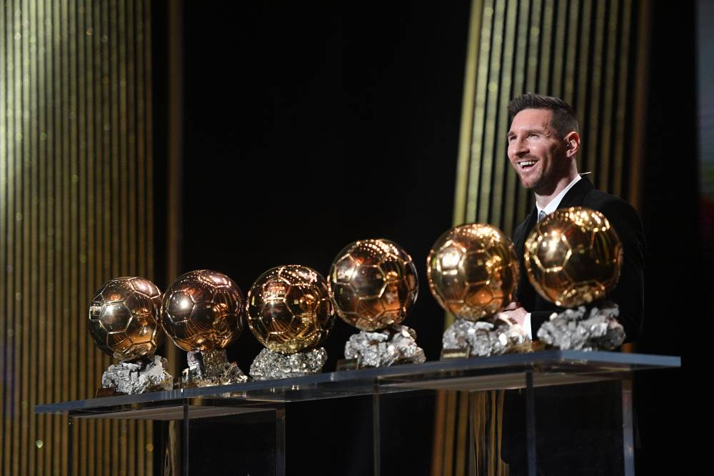 Lionel Messi lors de la remise du ballon d'or 2019. Photo: France Football