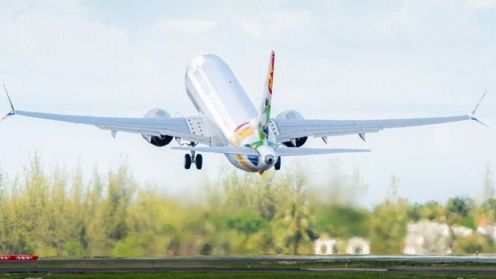 CAL's Boeing 737 Max 8, VP-CIX completes maintenance flight | Loop News