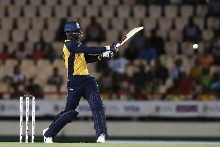 Darren Sammy guided the St Lucia Zouks to a tense four-wicket win over the Jamaica Tallawahs on Friday night