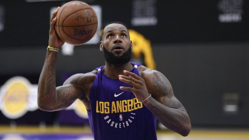 Sipèsta Los Angeles Lakers la, LeBron James. Photo: NBA.com