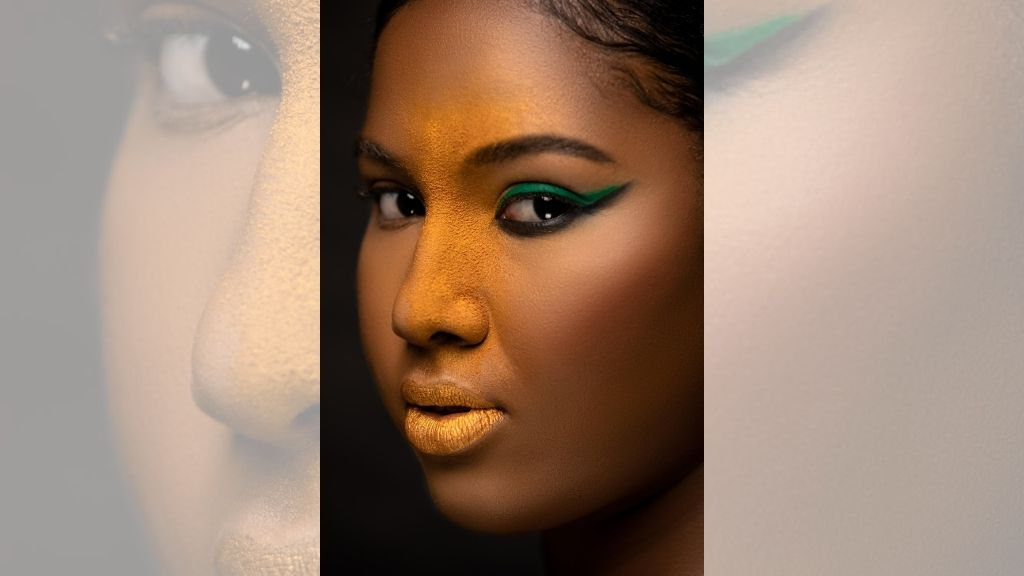 Model Shanique Singh connects with the lens. (Photos: Orville Spence)