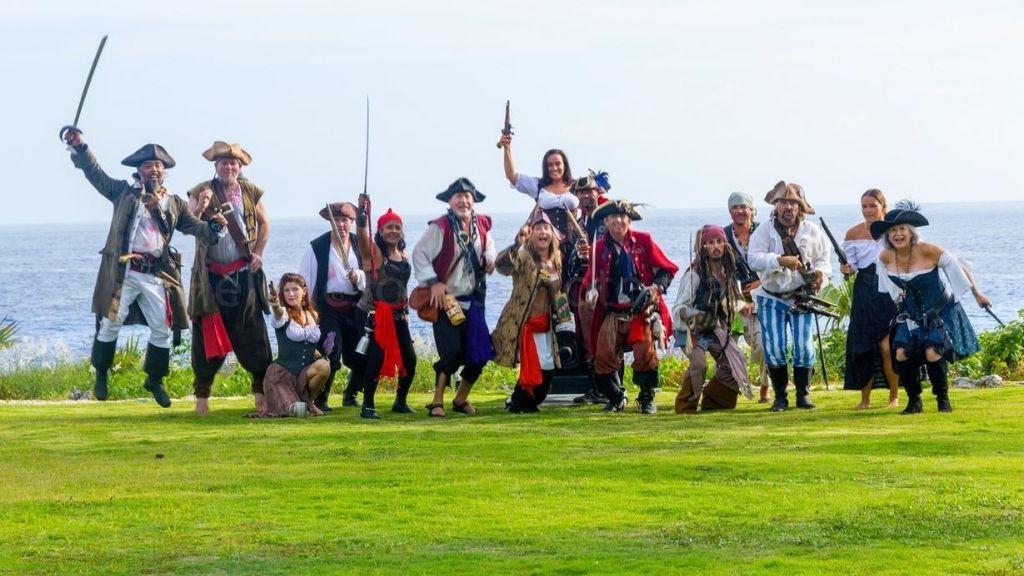 Las Tortugas Pirate; Photo credit: Helen Jones