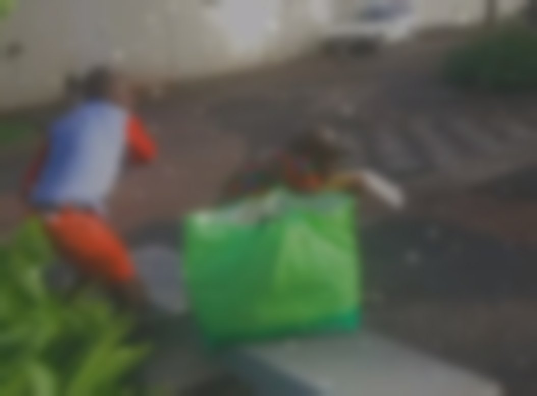 Image has been blurred to conceal the identity of those involved.