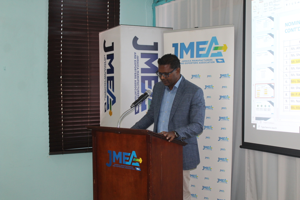 President of the Jamaica Manufacturing and Exporters Association, Richard Pandohie.