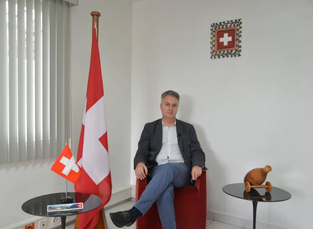 Fabrizio Poretti, chargé d'affaires a.i de la Confédération suisse en Haïti. Photo: Courtoisie de l'Ambassade de Suisse en République d'Haïti
