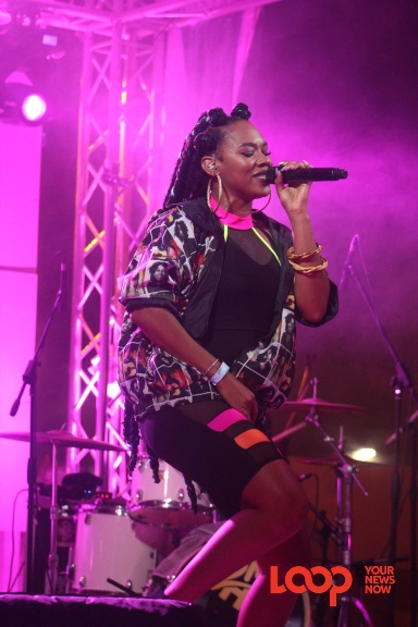 2 Mile Hill's Mahalia Cummins thrilled patrons at Back 2 Life