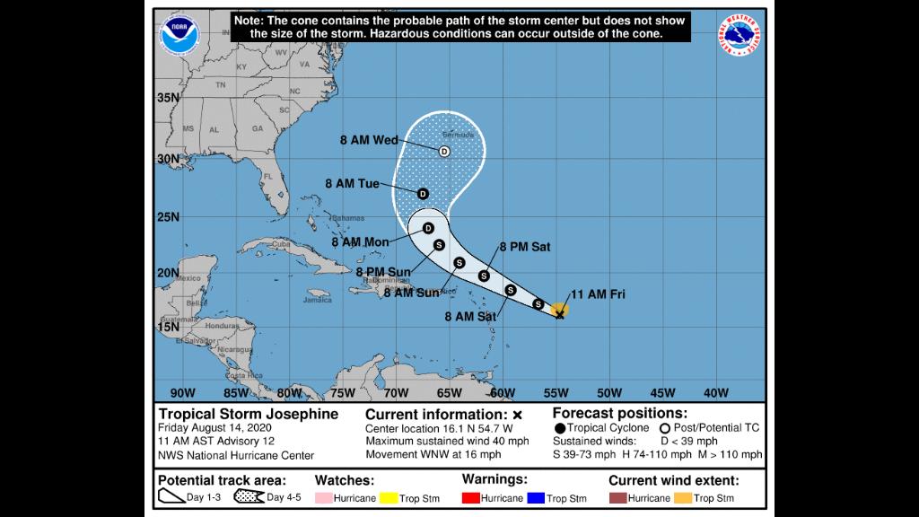 Photo: National Hurricane Centre.