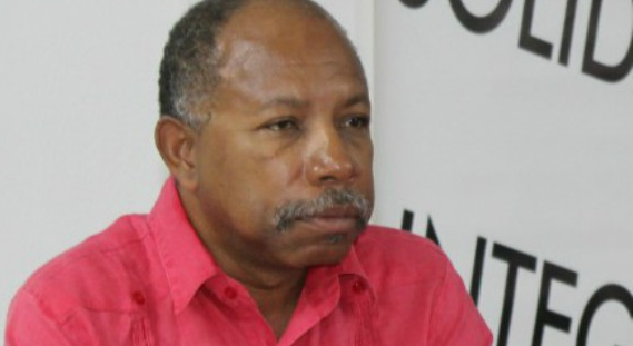 Pan Africanist and General Secretary of the Caribbean Movement for Peace and Integration (CMPI) David Denny