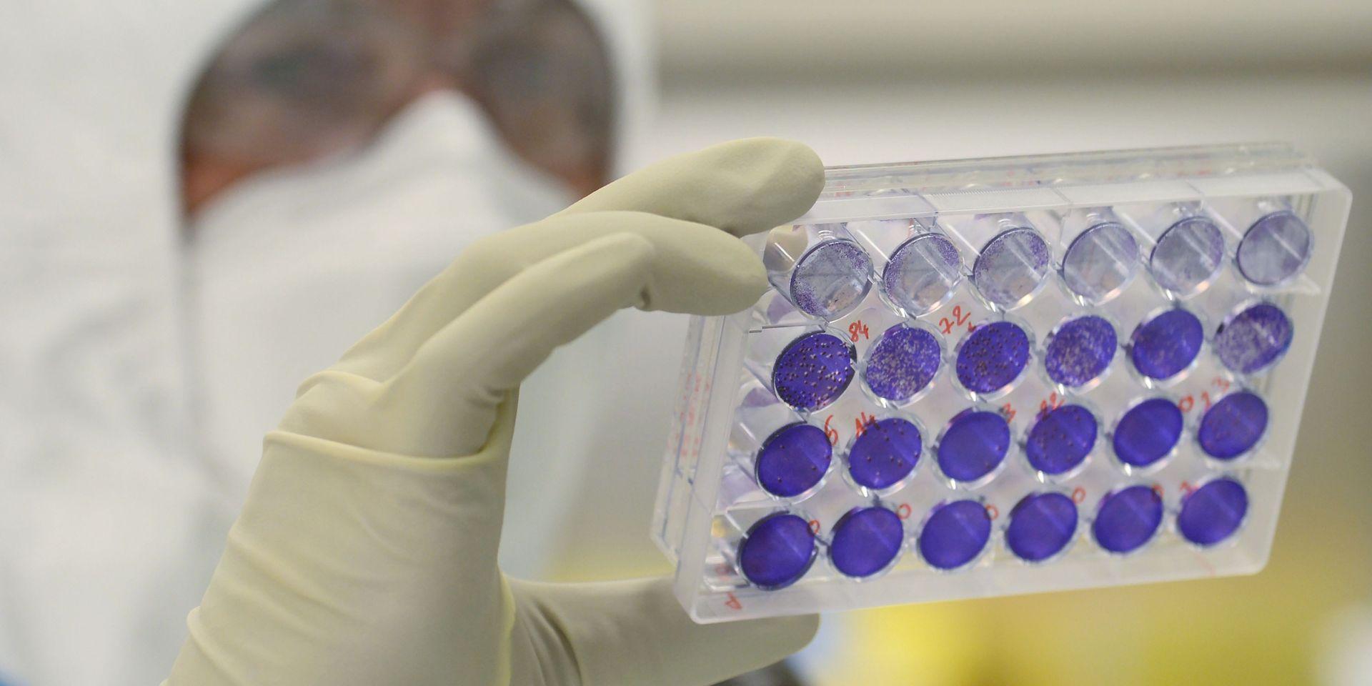 Résultats préliminaires prometteurs d'un autre projet de vaccin américain contre le coronavirus. Photo: AFP