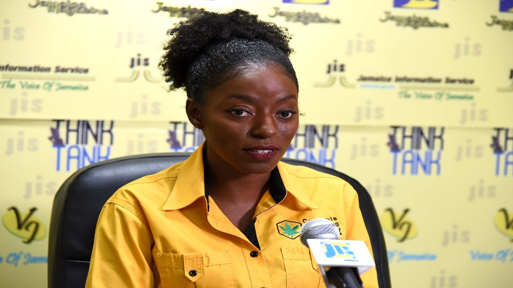 Director of Research, Development and Communications at the  Cannabis Licensing Authority, Felicia Bailey. (Photo: JIS)
