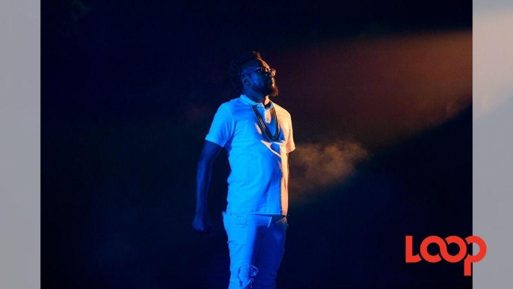 Jamaican 'king of dancehall', Beenie Man.