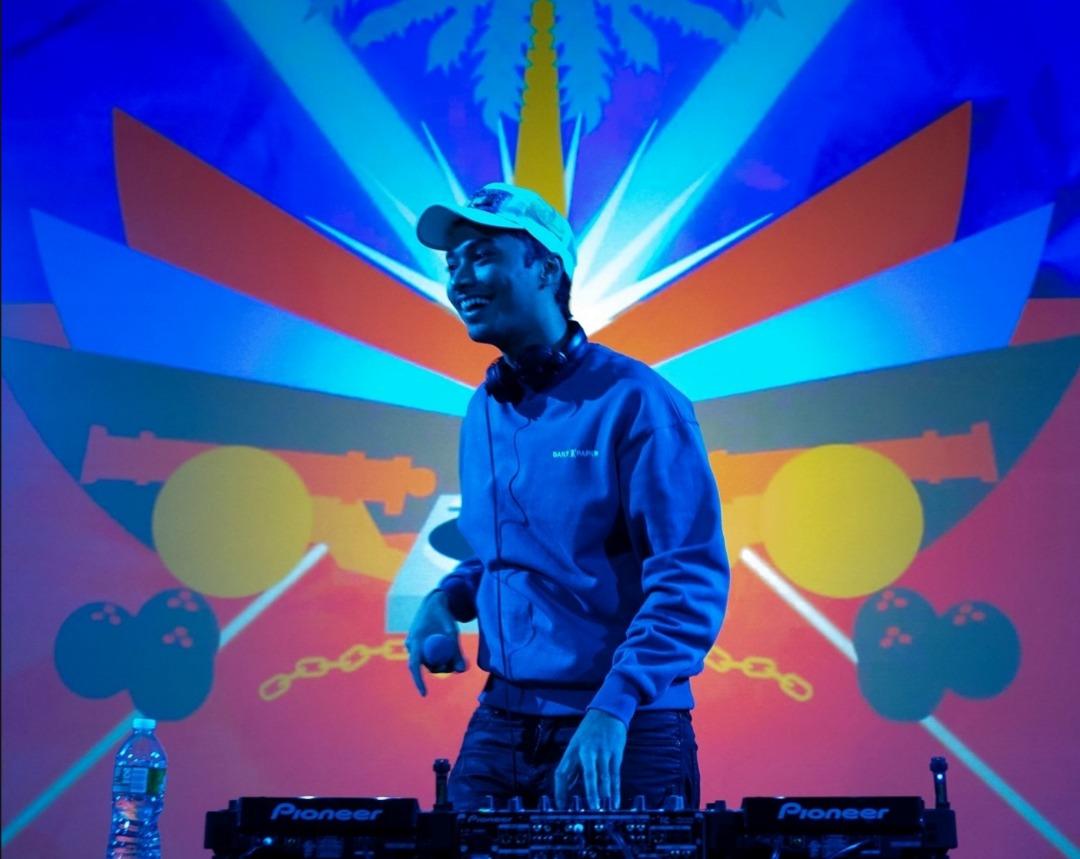 Le DJ haïtien Michael Brun/ Prise publié le 3 février sur la page Facebook de l'artiste