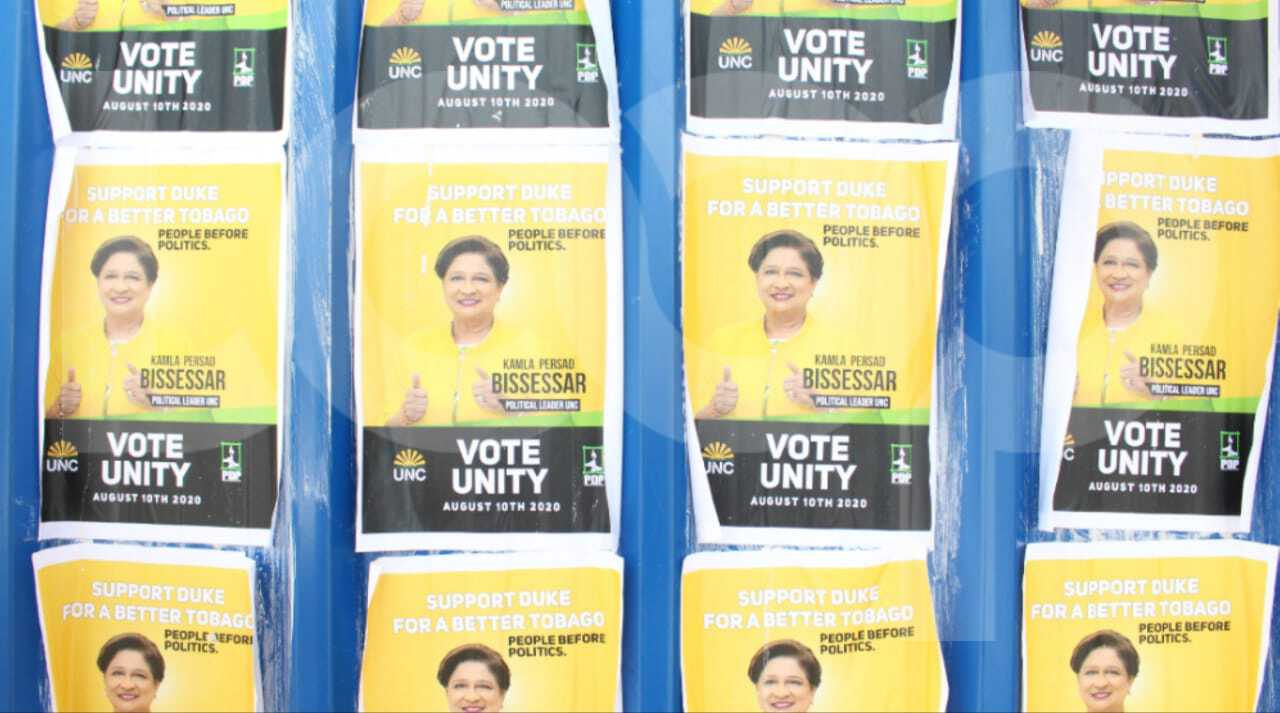 A set of flyers alluding to a coalition between the PDP and UNC surfaced in Scarborough a few weeks ago.