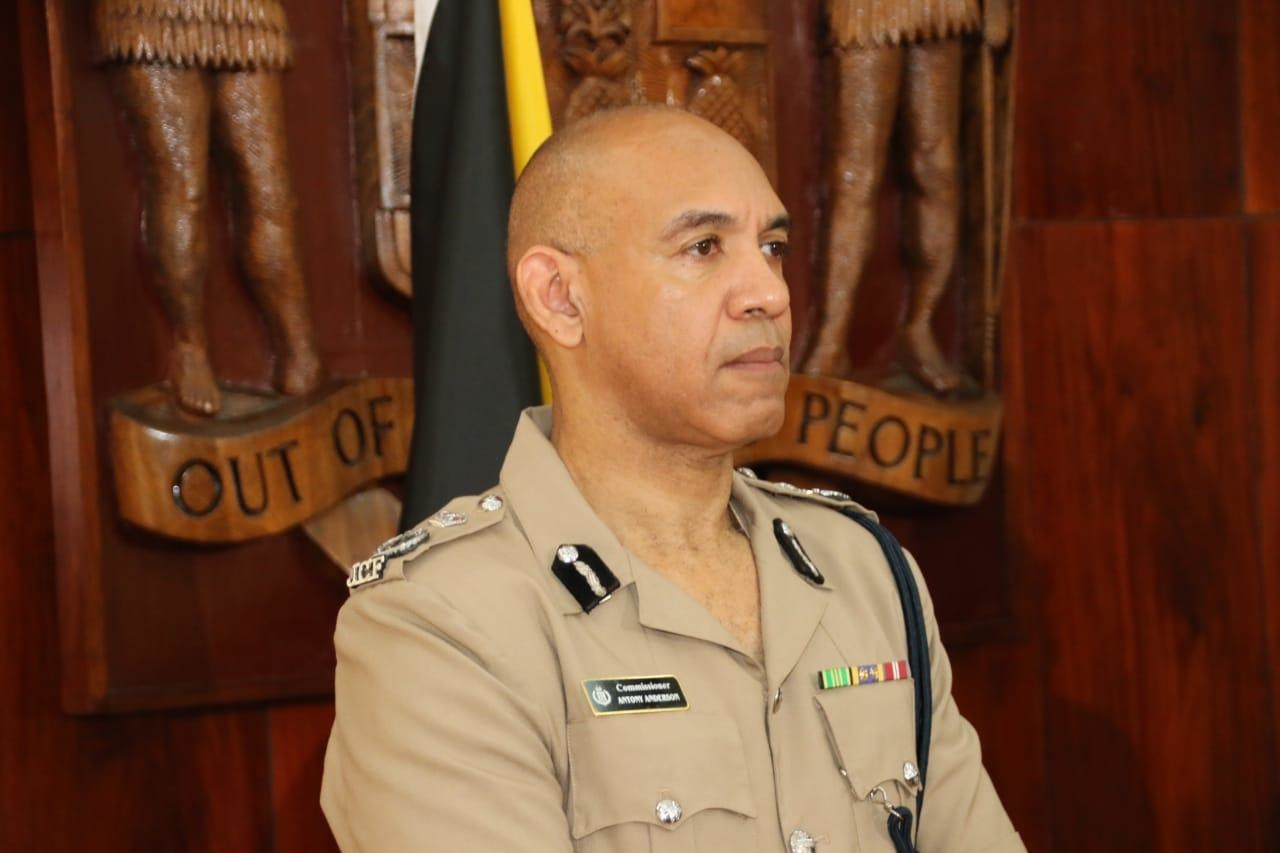 Police Commissionerin Jamaica, Major General Antony Anderson.